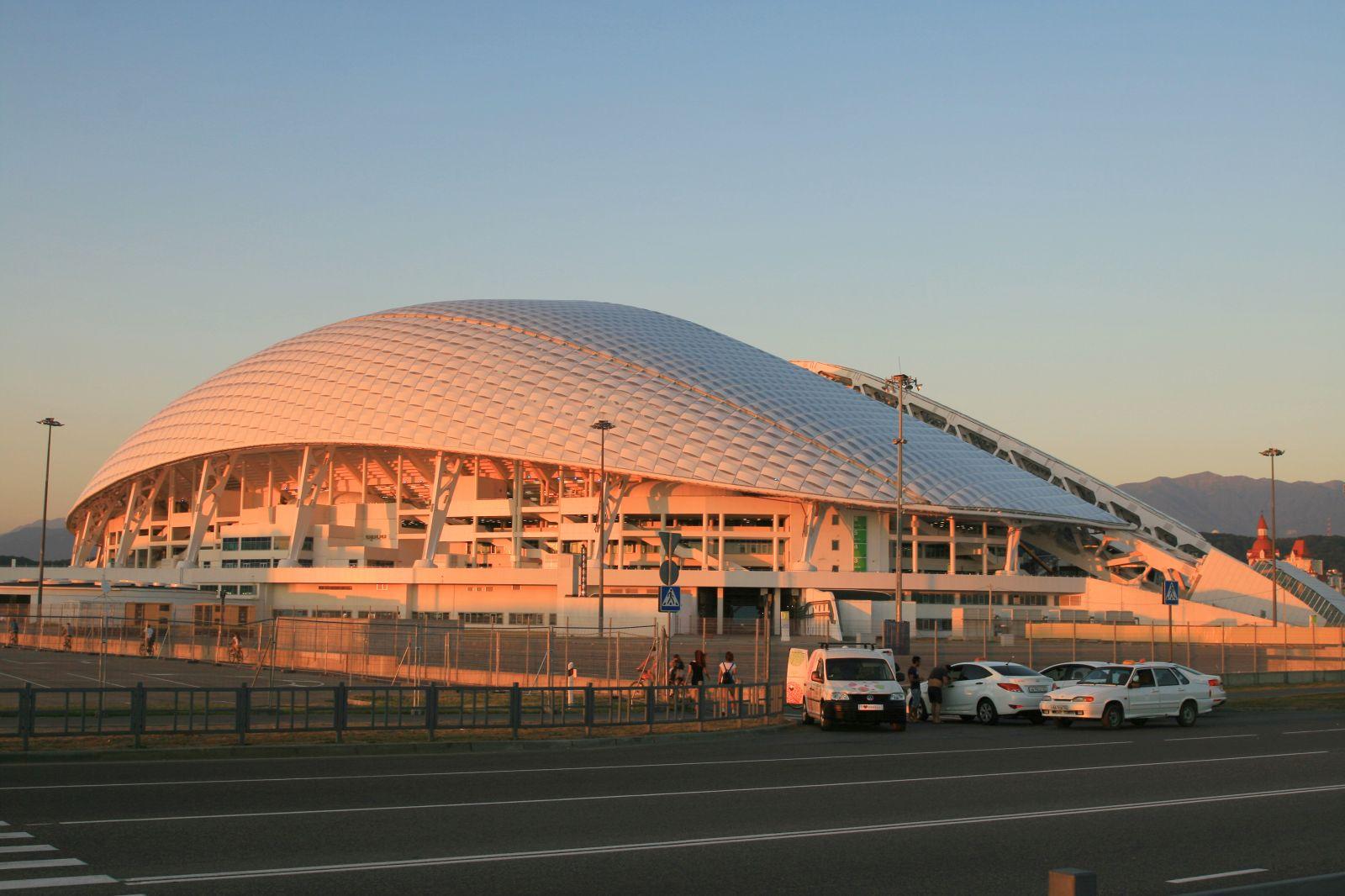 план-схема стадиона фишт