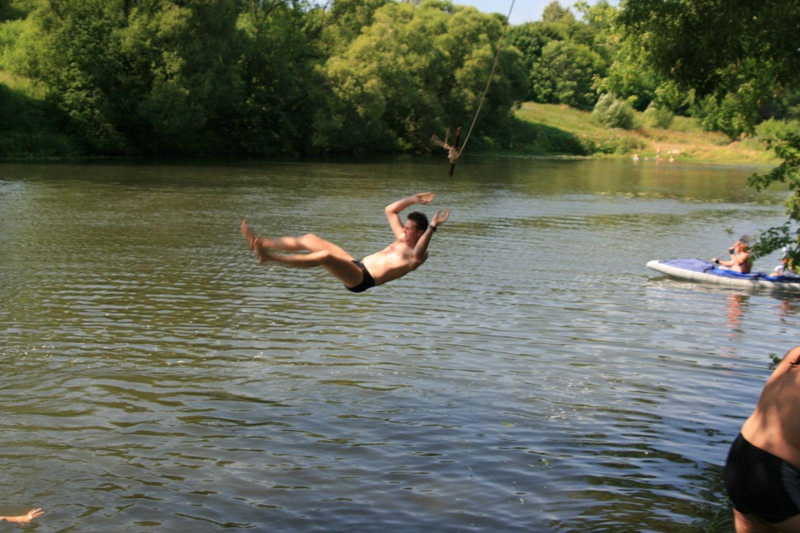 дети прыгают в реку с моста сонник объявления: продам